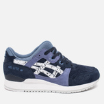 Кроссовки ASICS Gel-Lyte III Granite Pack Indian Ink/White фото- 0