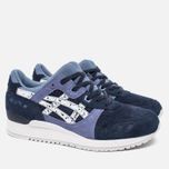Кроссовки ASICS Gel-Lyte III Granite Pack Indian Ink/White фото- 1