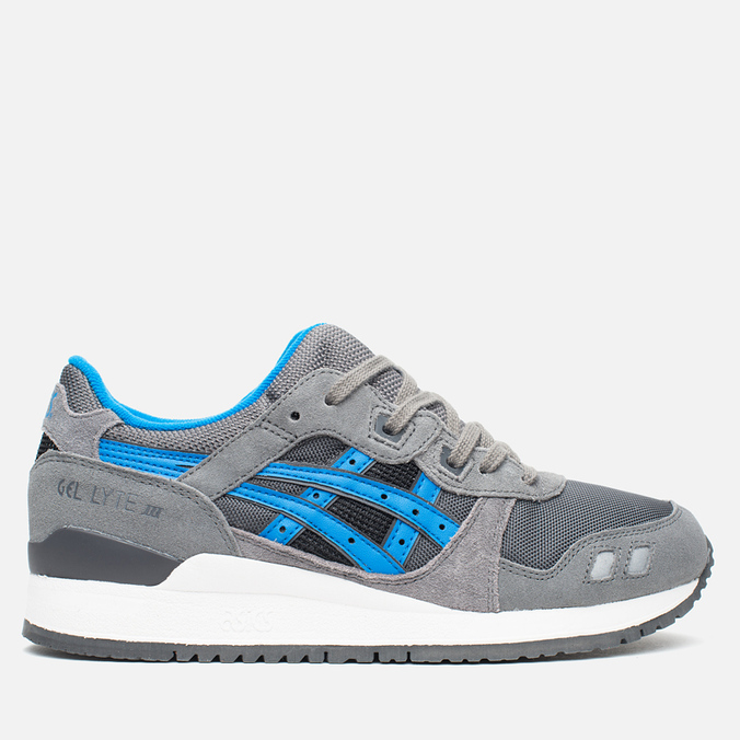 Кроссовки ASICS Gel-Lyte III Grey/Mid Blue