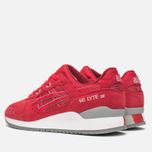 Кроссовки ASICS Gel-Lyte III Red/Red фото- 2
