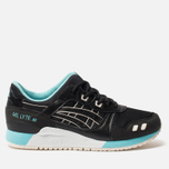 Кроссовки ASICS Gel-Lyte III Black/Blue/White фото- 0