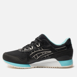 Кроссовки ASICS Gel-Lyte III Black/Blue/White фото- 1