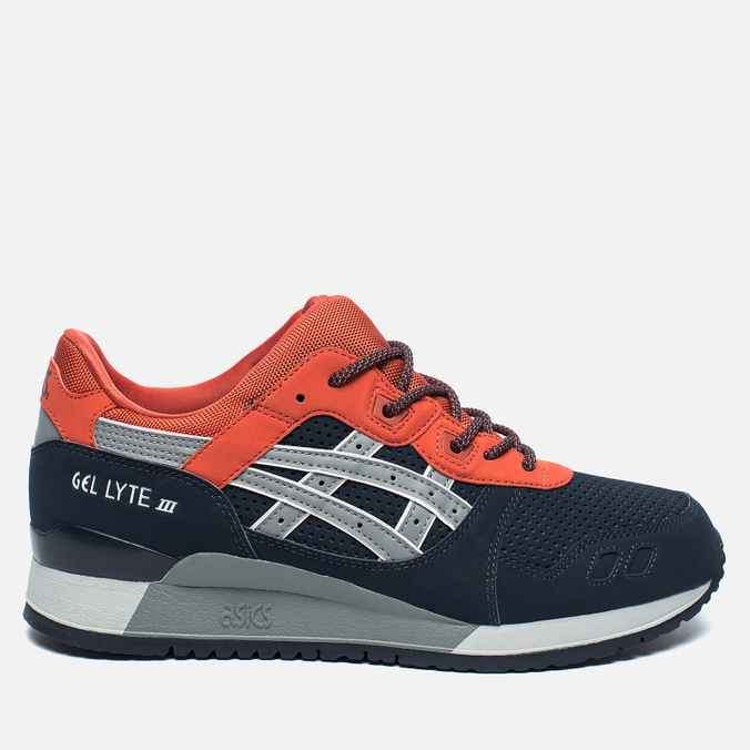 ASICS Gel-Lyte III Block Pack Sneakers Indian Ink/Mid Grey