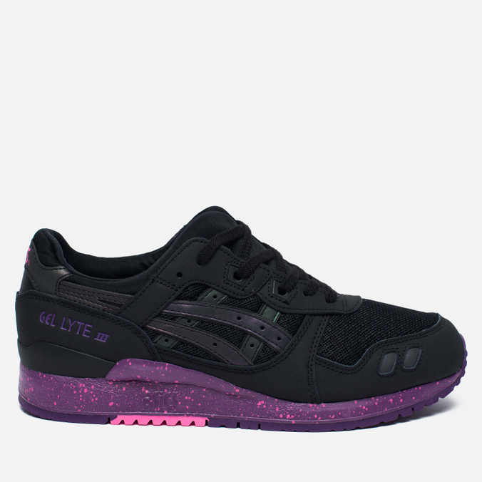 Кроссовки ASICS Gel-Lyte III Borealis Pack Black/Purple