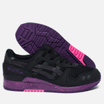 Кроссовки ASICS Gel-Lyte III Borealis Pack Black/Purple фото- 1