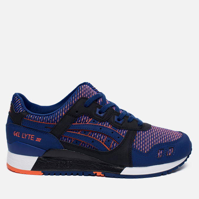 Кроссовки ASICS Gel-Lyte III Chameleoid Mesh Pack Blue Print/Orange
