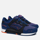 Кроссовки ASICS Gel-Lyte III Chameleoid Mesh Pack Blue Print/Orange фото- 2