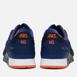 Кроссовки ASICS Gel-Lyte III Chameleoid Mesh Pack Blue Print/Orange фото- 5