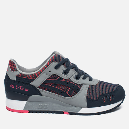Кроссовки ASICS Gel-Lyte III Chameleoid Mesh Pack Medium Grey/Guava