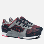Кроссовки ASICS Gel-Lyte III Chameleoid Mesh Pack Medium Grey/Guava фото- 2