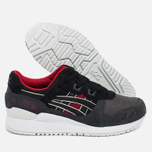 Кроссовки ASICS Gel-Lyte III Dark Grey/Black/Red фото- 1