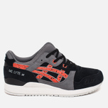 Кроссовки ASICS Gel-Lyte III Granite Pack Black/Chili фото- 0