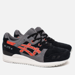 Кроссовки ASICS Gel-Lyte III Granite Pack Black/Chili фото- 1