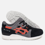 Кроссовки ASICS Gel-Lyte III Granite Pack Black/Chili фото- 2