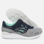 Кроссовки ASICS Gel-Lyte III Grey/Dark Blue/Mint фото- 1