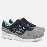 Кроссовки ASICS Gel-Lyte III Grey/Dark Blue/Mint фото- 2