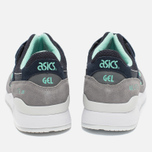 Кроссовки ASICS Gel-Lyte III Grey/Dark Blue/Mint фото- 5