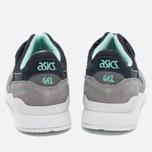Кроссовки ASICS Gel-Lyte III Grey/Dark Blue/Mint фото- 5