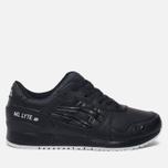 Кроссовки ASICS Gel-Lyte III Leather Black/Black фото- 0