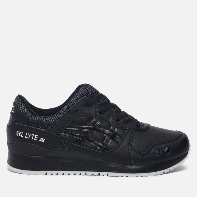 Кроссовки ASICS Gel-Lyte III Leather Black/Black