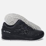 Кроссовки ASICS Gel-Lyte III Leather Black/Black фото- 2