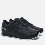 Кроссовки ASICS Gel-Lyte III Leather Black/Black фото- 1