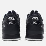 Кроссовки ASICS Gel-Lyte III Leather Black/Black фото- 3