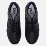 Кроссовки ASICS Gel-Lyte III Leather Black/Black фото- 4