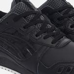 Кроссовки ASICS Gel-Lyte III Leather Black/Black фото- 5