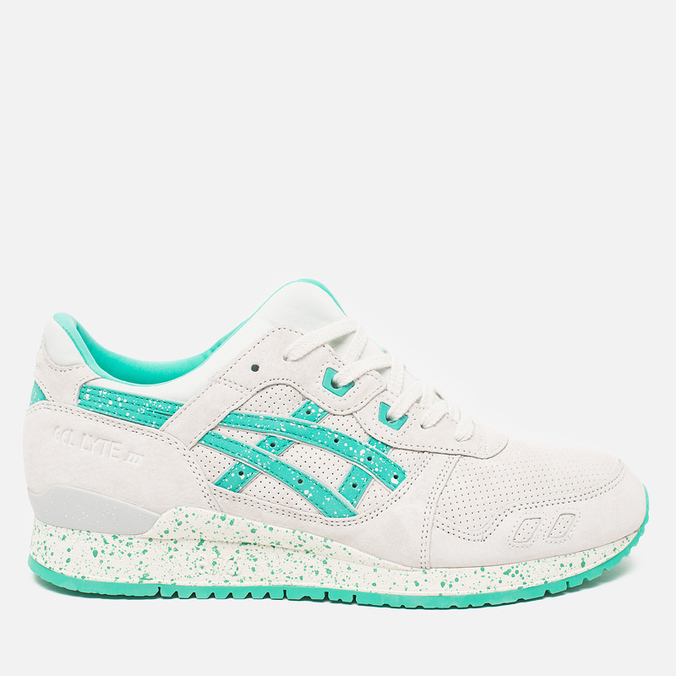 ASICS Gel-Lyte III Maldives Pack Lily Sneakers White/Aqua Green