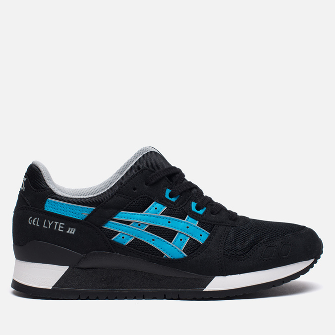 Кроссовки ASICS Gel-Lyte III Metro Pack Black/Atomic Blue
