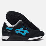 Кроссовки ASICS Gel-Lyte III Metro Pack Black/Atomic Blue фото- 2