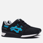 Кроссовки ASICS Gel-Lyte III Metro Pack Black/Atomic Blue фото- 1