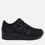 Кроссовки ASICS Gel-Lyte III Monochrome Pack Black/Black фото- 0