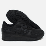 Кроссовки ASICS Gel-Lyte III Monochrome Pack Black/Black фото- 2