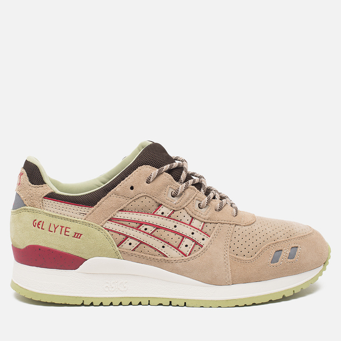 Кроссовки ASICS Gel-Lyte III Scorpion Pack Sand/Burgundy