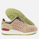 Кроссовки ASICS Gel-Lyte III Scorpion Pack Sand/Burgundy фото- 2