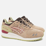 Кроссовки ASICS Gel-Lyte III Scorpion Pack Sand/Burgundy фото- 1