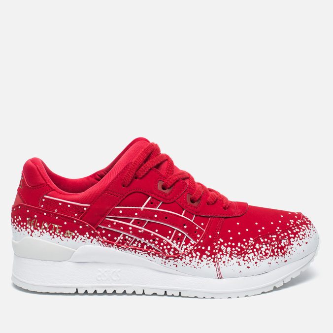 Кроссовки ASICS Gel-Lyte III Snow Flake Red/Red