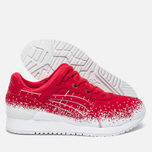 Кроссовки ASICS Gel-Lyte III Snow Flake Red/Red фото- 2