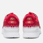 Кроссовки ASICS Gel-Lyte III Snow Flake Red/Red фото- 3