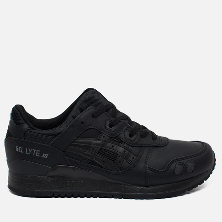 Кроссовки ASICS Gel-Lyte III Triple Leather Black