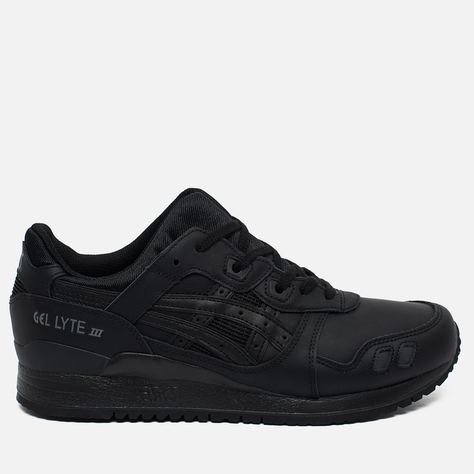 Кроссовки ASICS Gel-Lyte III Leather Triple Black