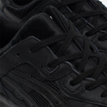 Кроссовки ASICS Gel-Lyte III Leather Triple Black фото- 5