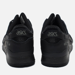 Кроссовки ASICS Gel-Lyte III Leather Triple Black фото- 3