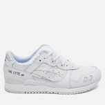Кроссовки ASICS Gel-Lyte III Leather Triple White фото- 0