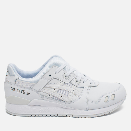 ASICS Gel-Lyte III Triple Leather Sneakers White