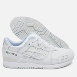 Кроссовки ASICS Gel-Lyte III Leather Triple White фото- 2