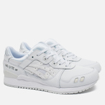 Кроссовки ASICS Gel-Lyte III Leather Triple White фото- 1
