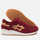 Кроссовки ASICS Gel-Lyte III Vegetan Pack Burgundy/Tan фото- 2